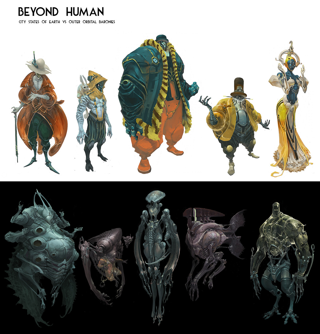 2nd Place, Beyond Human: Character Design