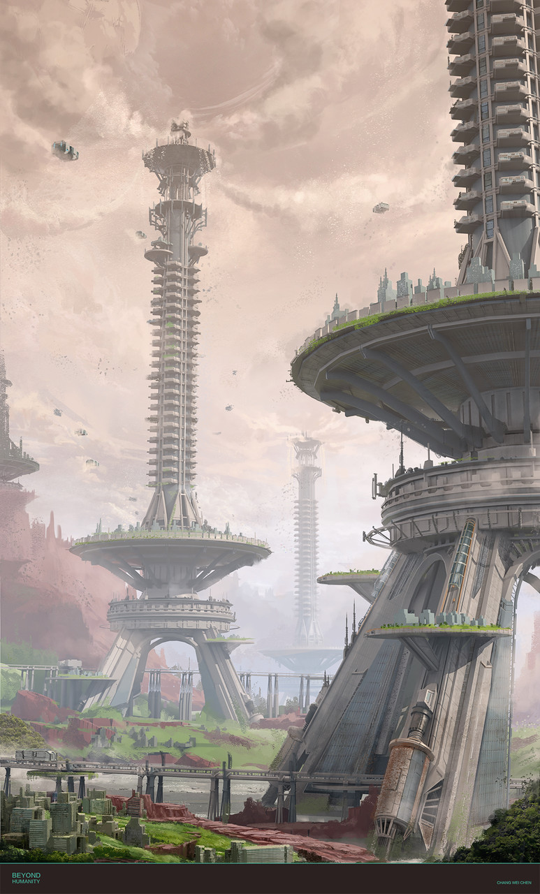 Honorable Mention, Beyond Human: Environment Design