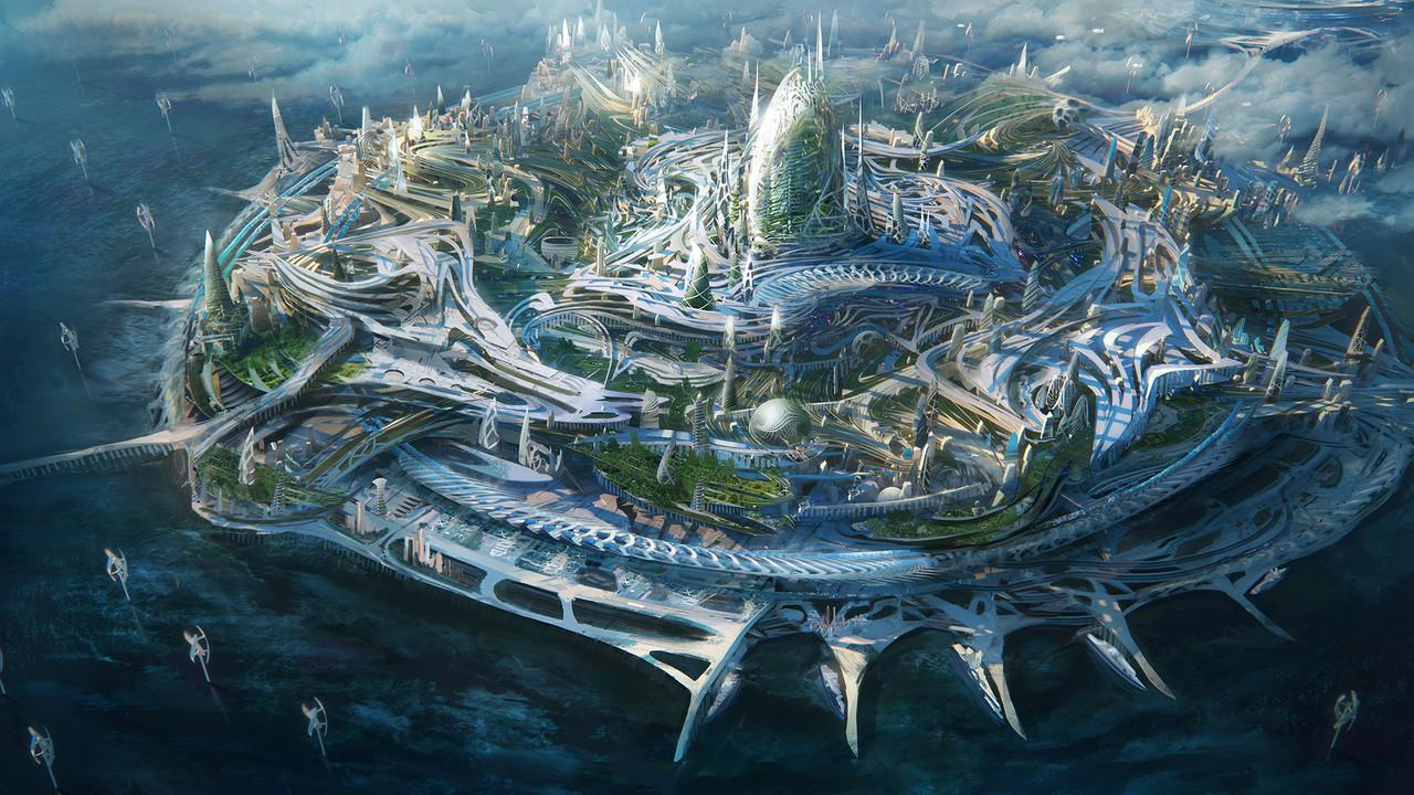 2nd Place, Beyond Human: Environment Design