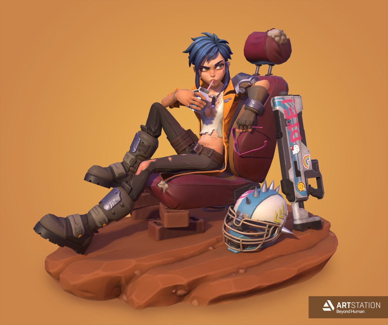 1st Place, Beyond Human: Game Character Art (real-time)