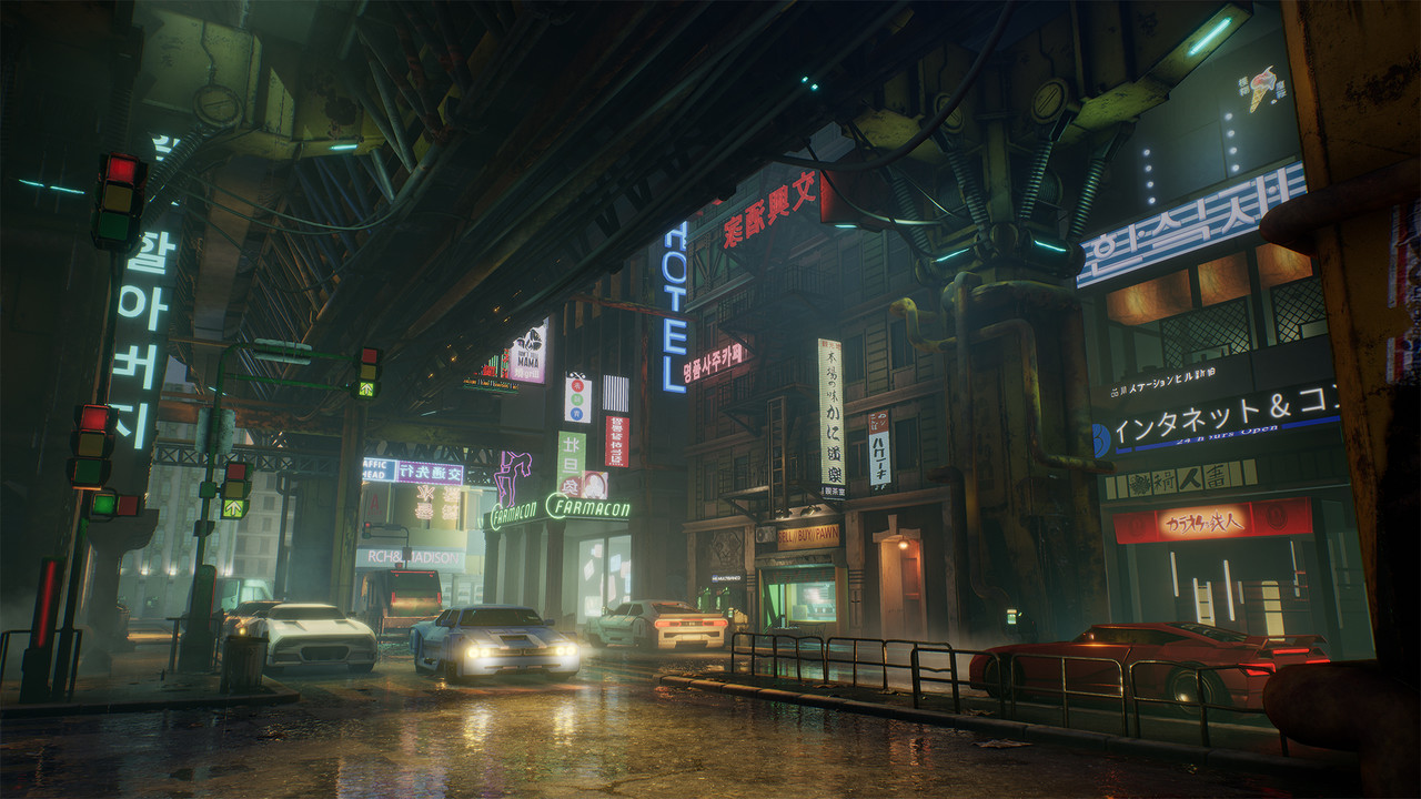 Honorable Mention, Beyond Human: Game Environment/Level Art
