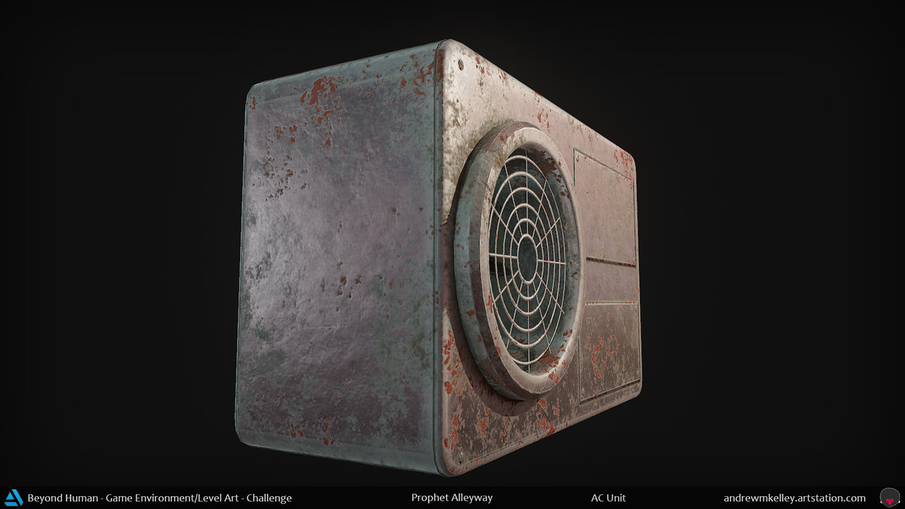 Artstation Andrew Kelleys Submission On Beyond Human Game Ac Unit Fuse Box And