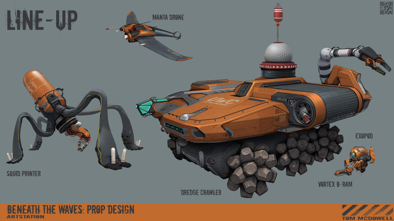 1st Place, Beneath the Waves: Prop Design
