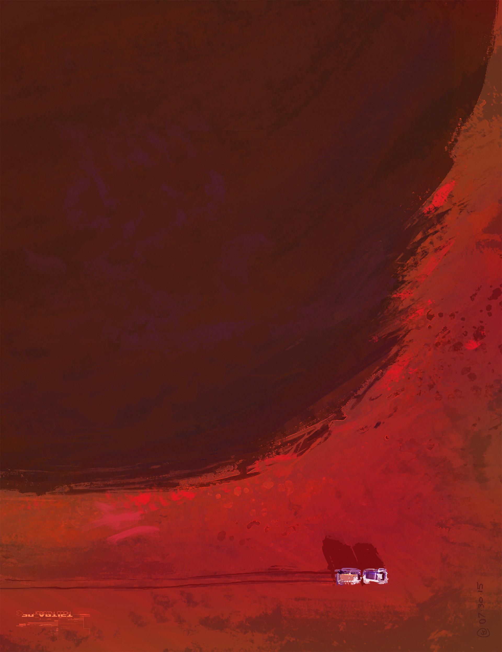 ArtStation - Jeremy Cook - The Martian