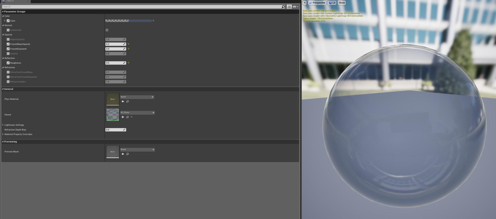 ArtStation - Sascha Henrichs - Unreal Engine Simple Water