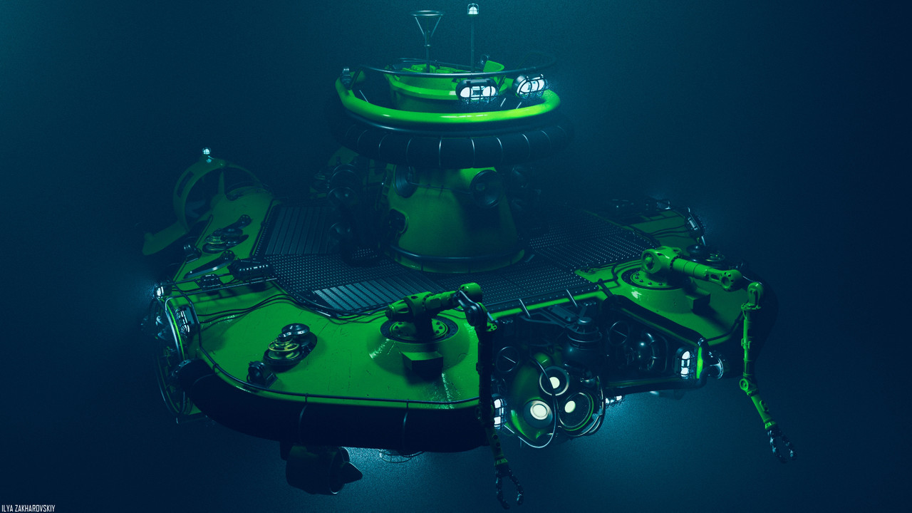 3rd Place, Beneath the Waves: Prop Art (rendered)