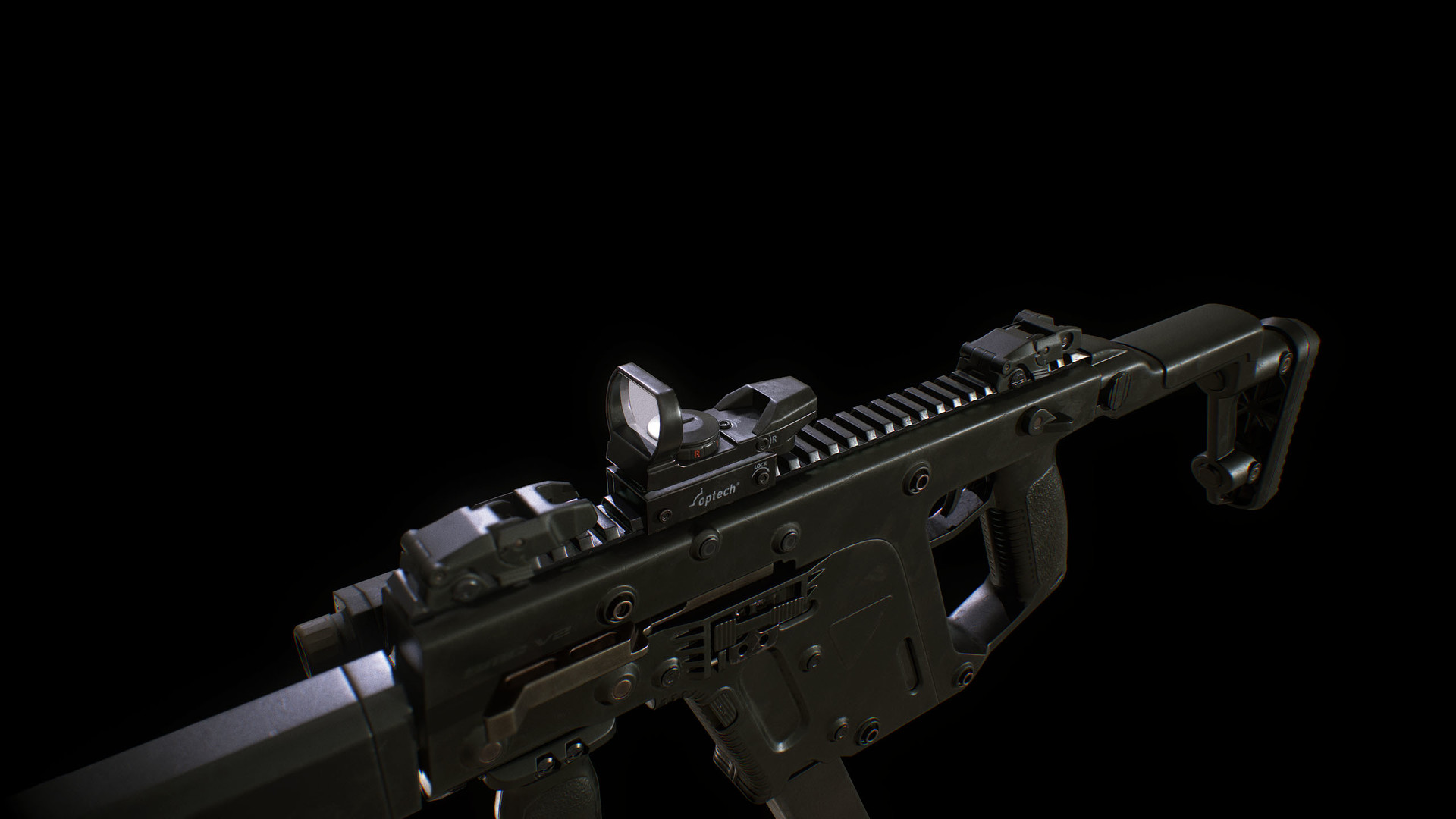 Sendoa Bergasa, Online Portfolio - FPS Weapon Set: Kriss