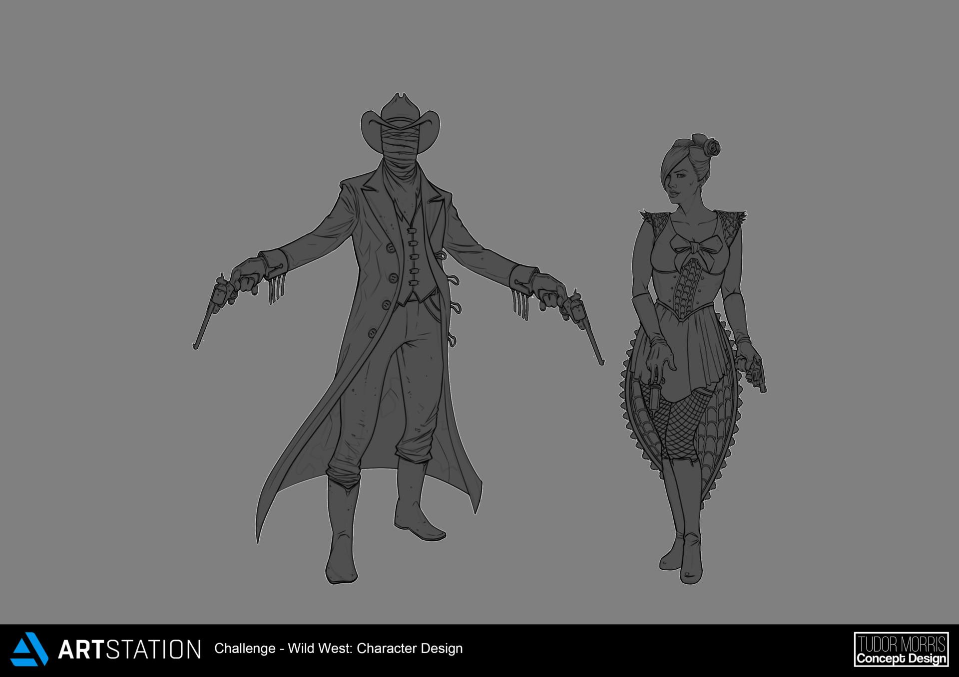 Character Design Challenge Concept : Beyond human challenge update