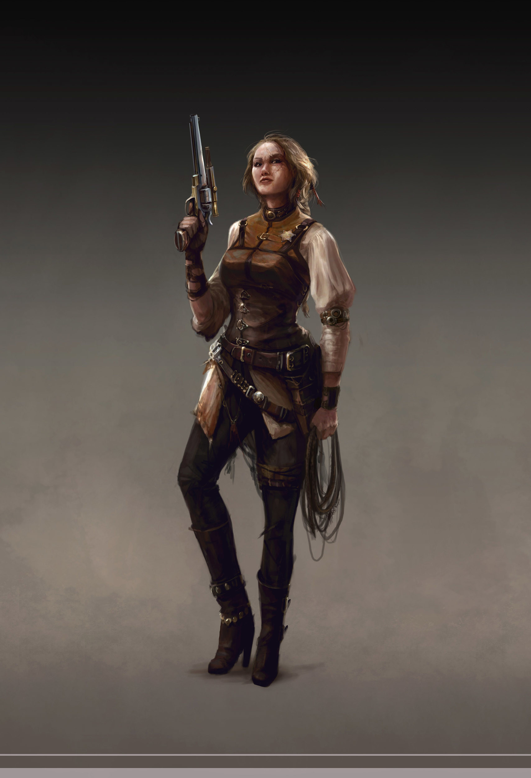 ArtStation - Marco Hasmann's submission on Wild West