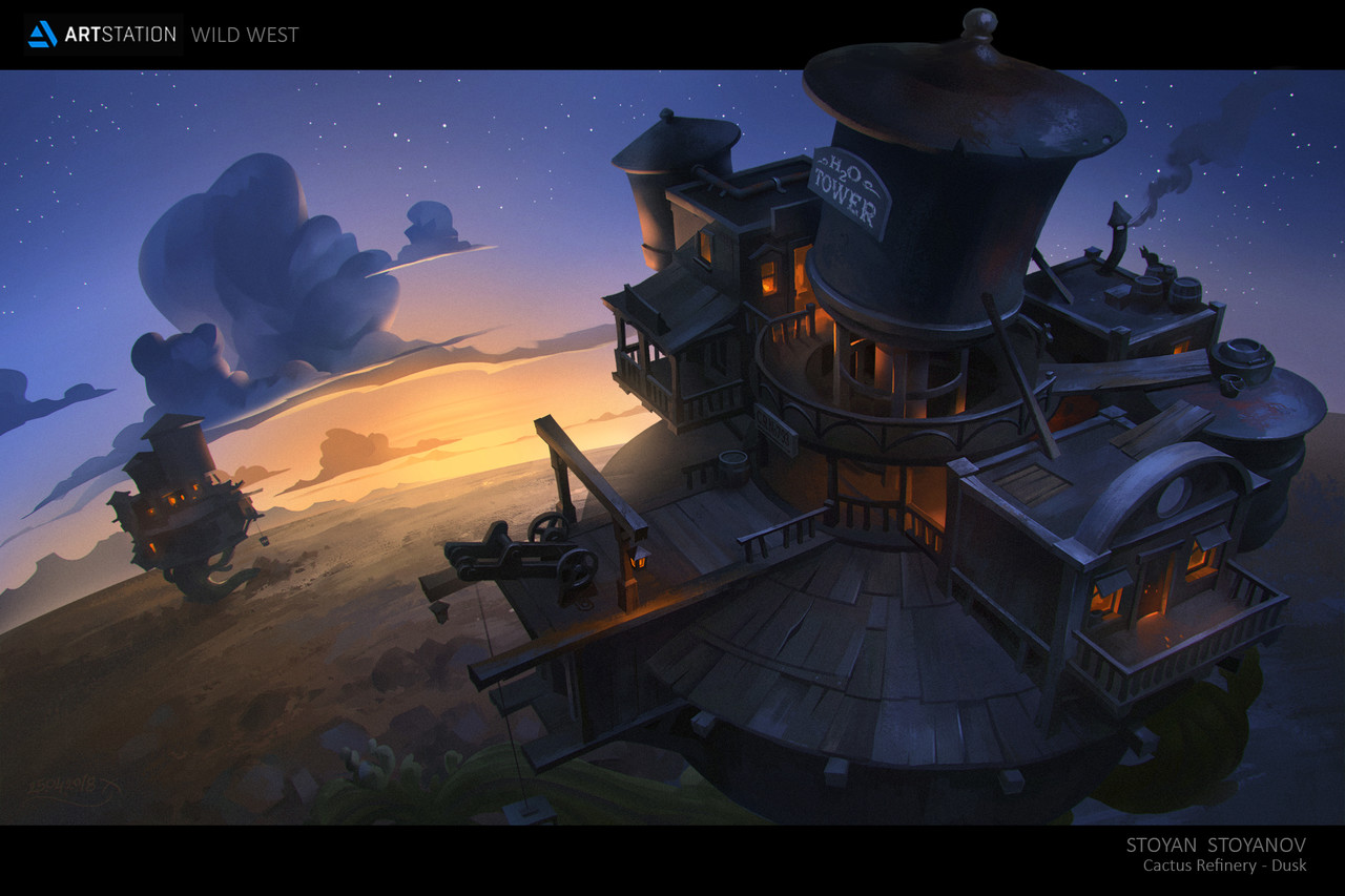 2nd Place, Wild West: Environment Design