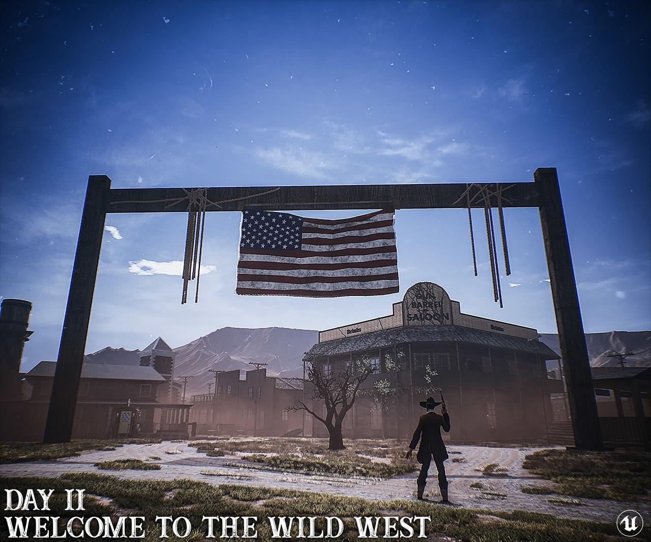 The Wild West | LEVEL DESIGN Showcase | UE4 | ArtStation