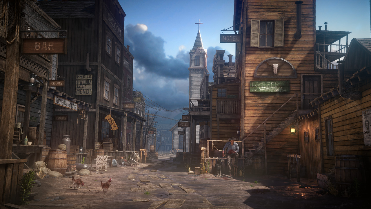 2nd Place, Wild West: Game Environment/Level Art