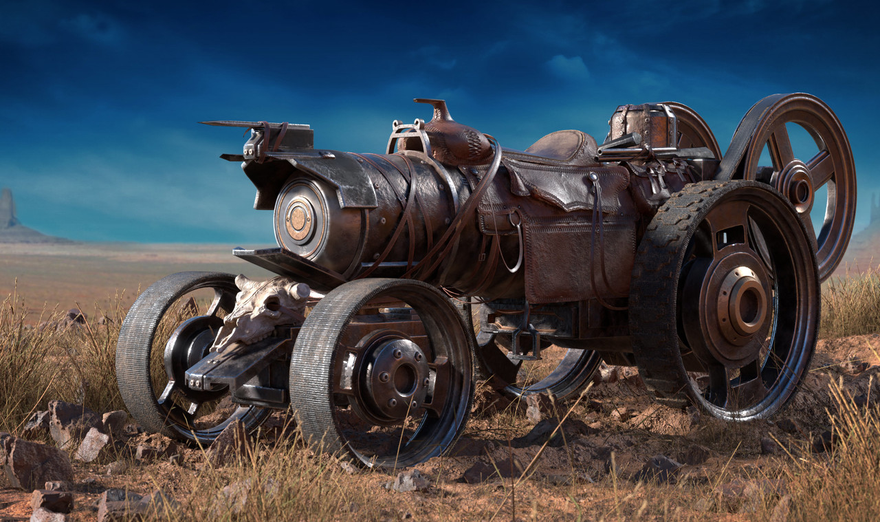 2nd Place, Wild West: Prop Art (rendered)