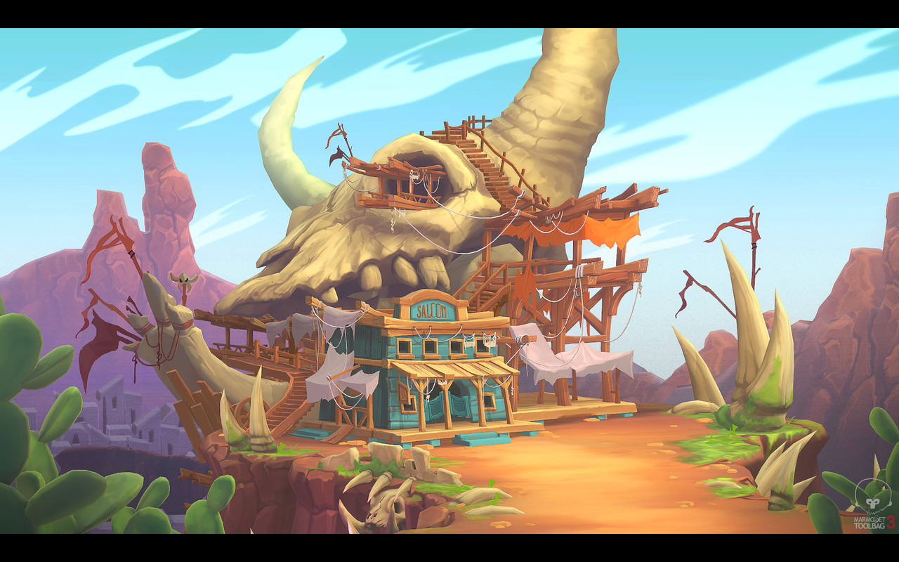 3rd Place, Wild West: Game Environment/Level Art