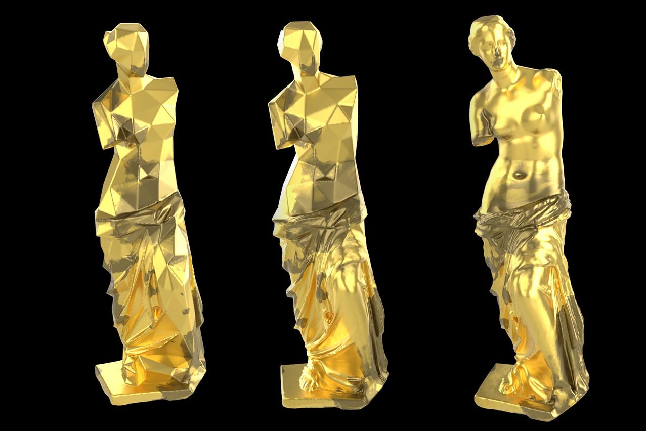 ArtStation - Houdini Procedural Transformation, Sercan Yasar