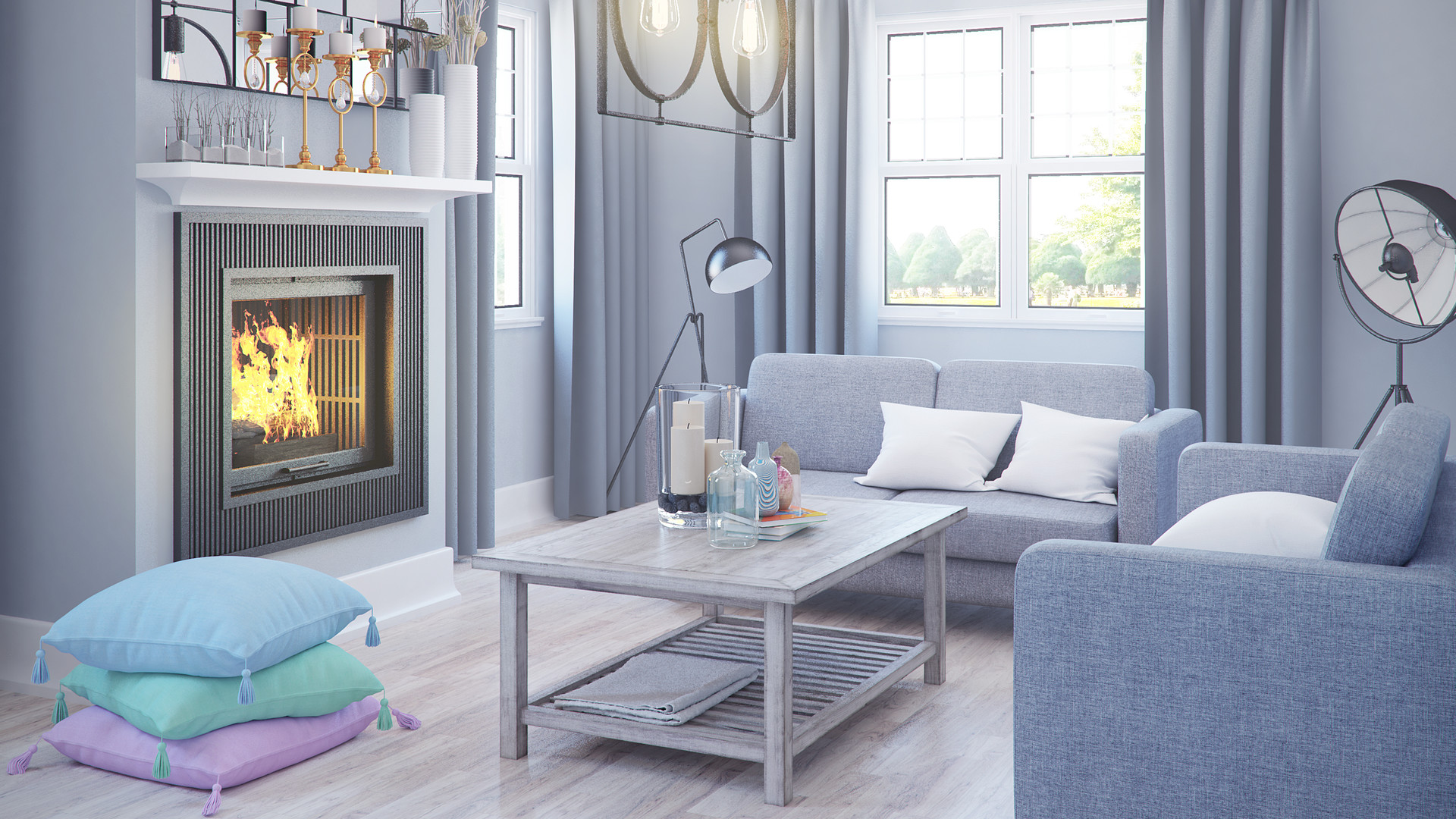 Living Room 3D Models Collection 2022