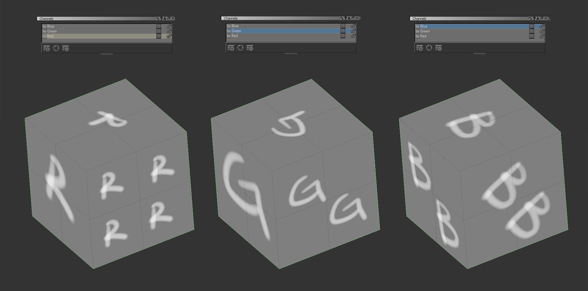 Dusan Kovic - CG Artist - Single rgb texture for multiple