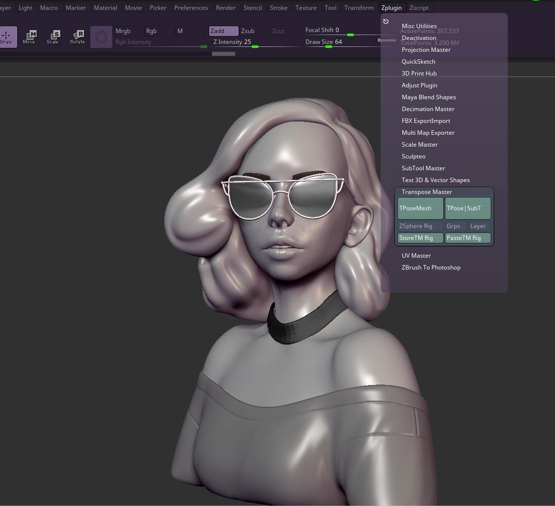 ArtStation - Crystal Bretz - S W I R L Y 3D - Breakdown