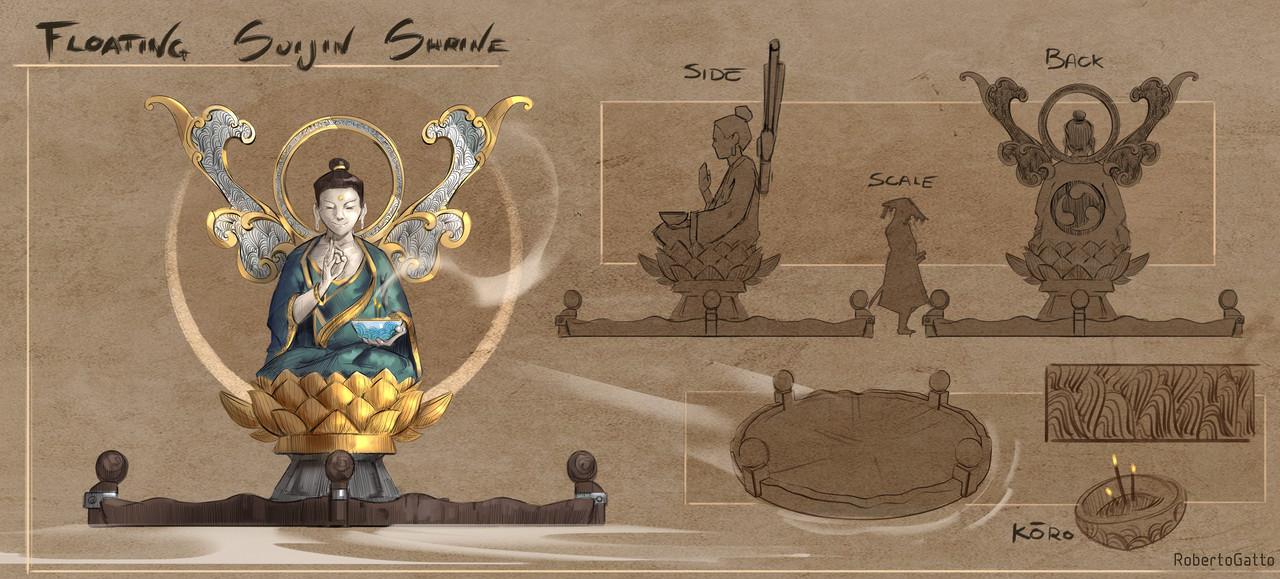 2nd Place, Feudal Japan: The Shogunate: Prop Design