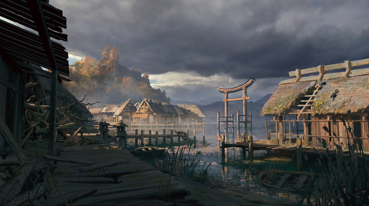 1st Place, Feudal Japan: The Shogunate: Environment Design
