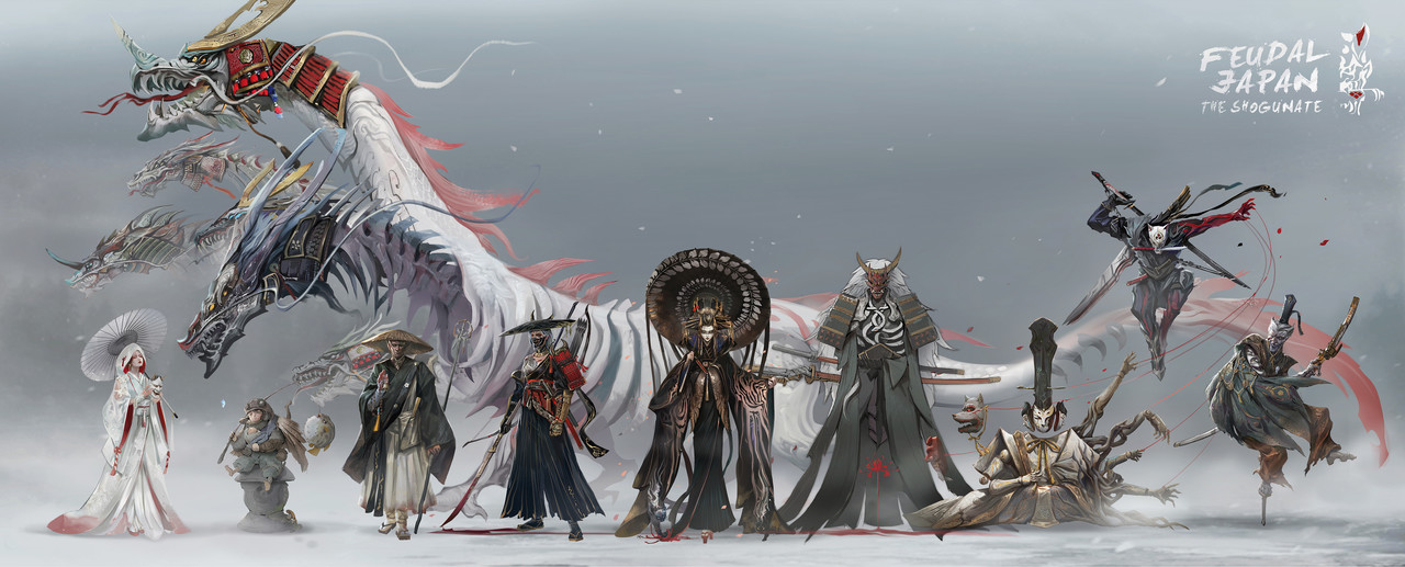 Honorable Mention, Feudal Japan: The Shogunate: Character Design