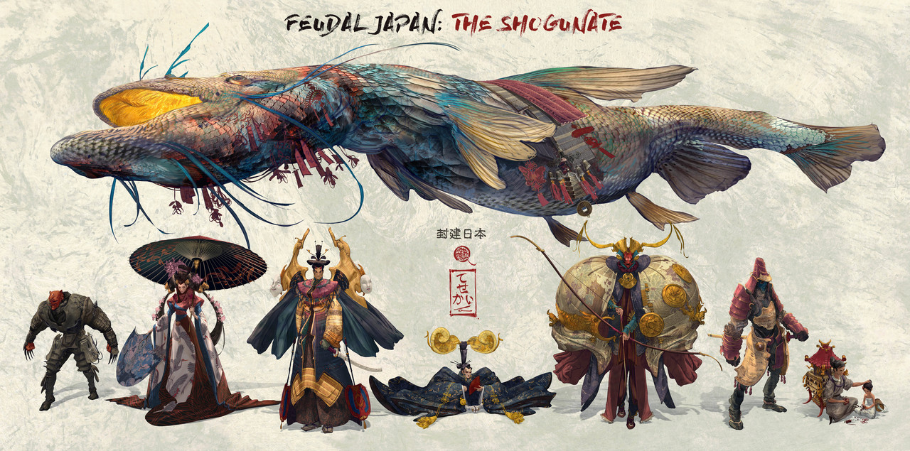 3rd Place, Feudal Japan: The Shogunate: Character Design