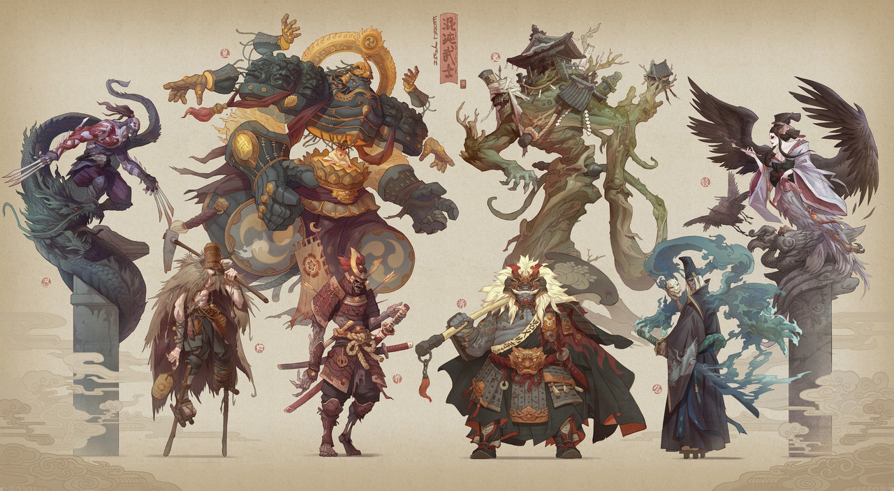 1st Place, Feudal Japan: The Shogunate: Character Design
