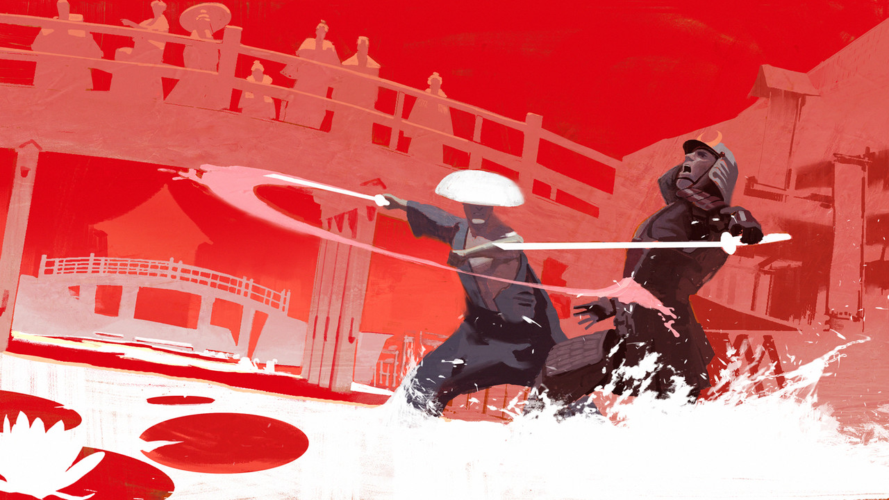3rd Place, Feudal Japan: The Shogunate: Keyframe Concept Art