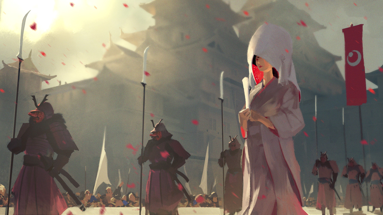 1st Place, Feudal Japan: The Shogunate: Keyframe Concept Art