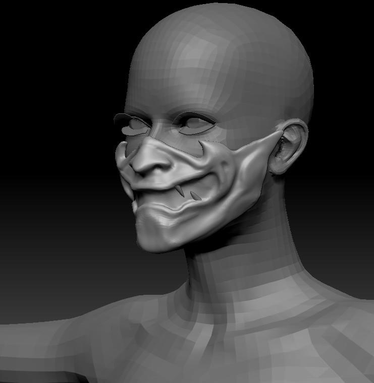 Adobe Fuse Mask
