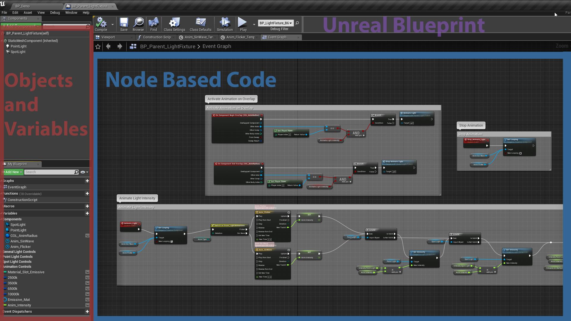 ArtStation - Sam Bean - UE4 Blueprinting for Environment / Lighting