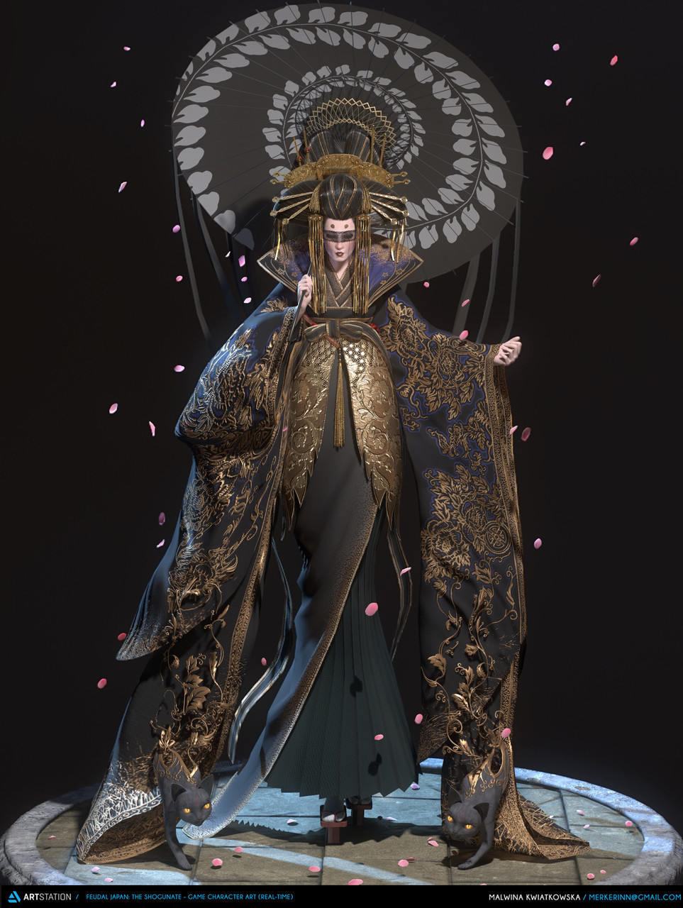 Honorable Mention, Feudal Japan: The Shogunate: Game Character Art (real-time)
