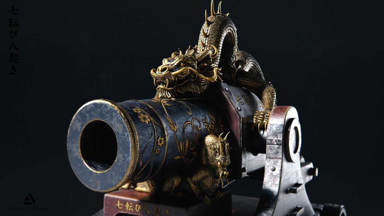 Honorable Mention, Feudal Japan: The Shogunate: Prop Art (rendered)