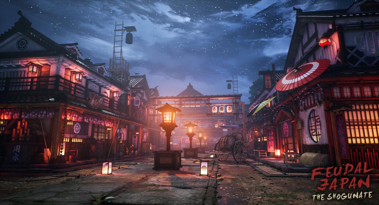 Honorable Mention, Feudal Japan: The Shogunate: Game Environment/Level Art
