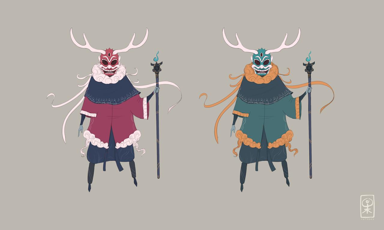 Main ch shaman sketch explor 2