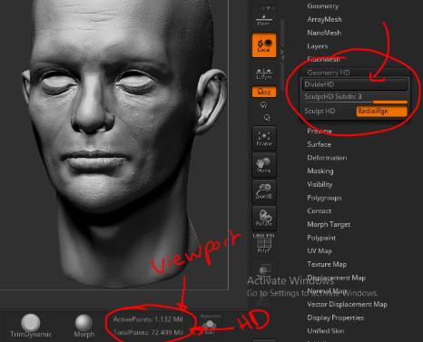 ArtStation - Louis Squara - Zbrush HD geometry for video