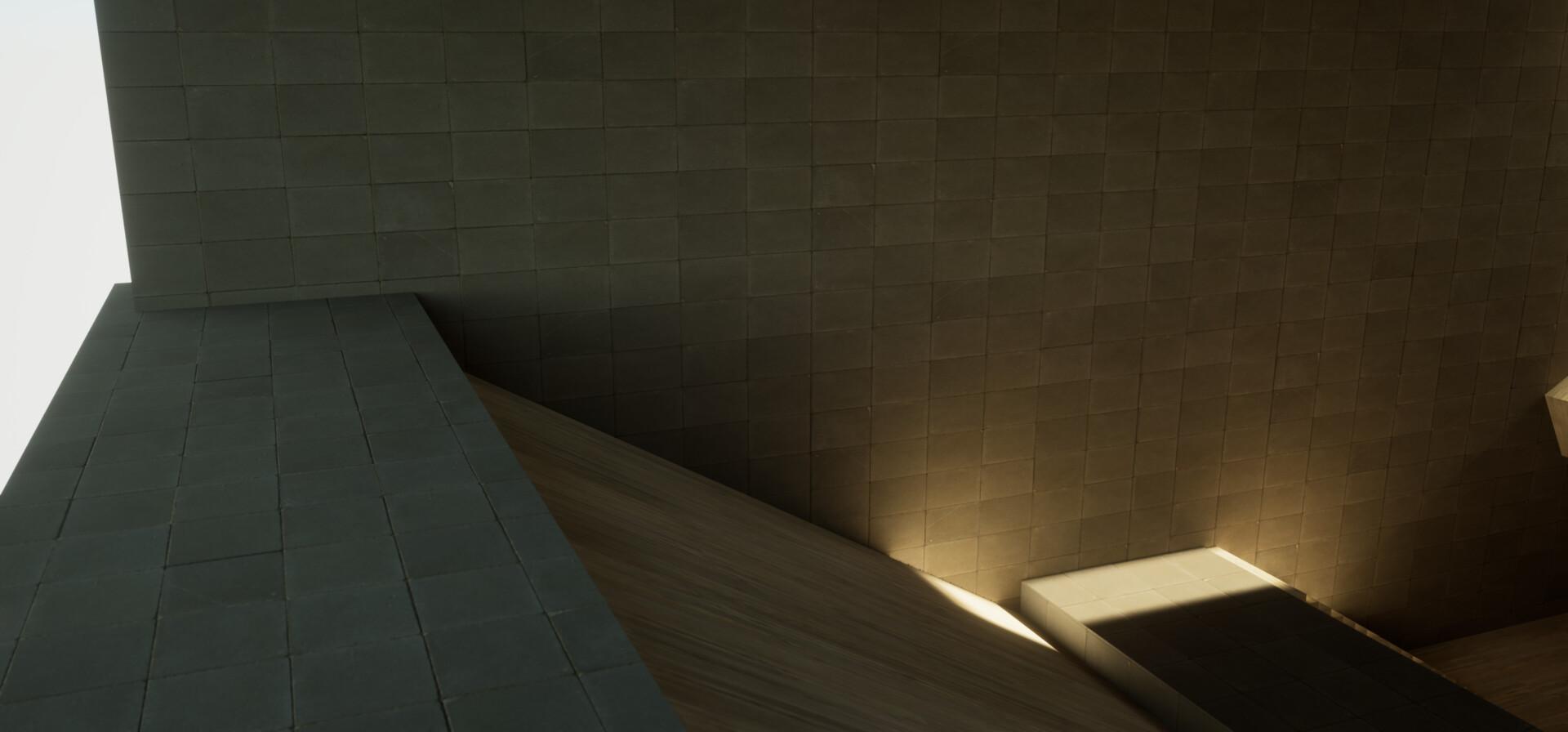 ArtStation - Peter Tran - 01190505 - UE4 lighting study