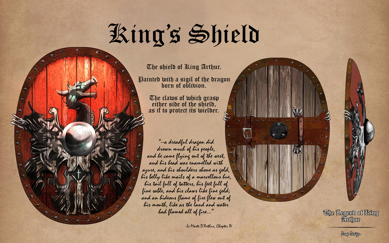 Honorable Mention, The Legend of King Arthur: Prop Design