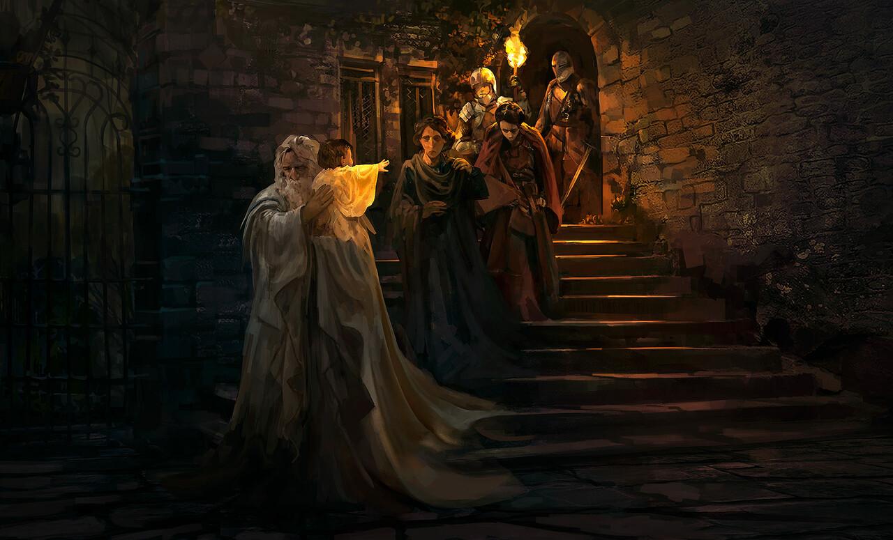 1st Place, The Legend of King Arthur: Keyframe Design