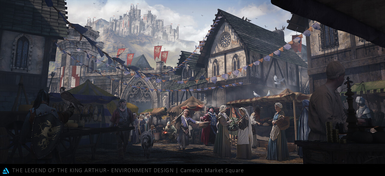 Honorable Mention, The Legend of King Arthur: Environment Design