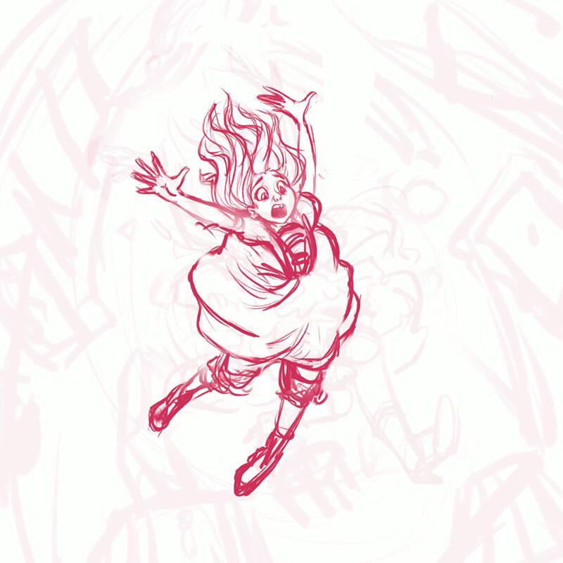 Anim Nl Step By Step Creating An Alice In Wonderland Illustration
