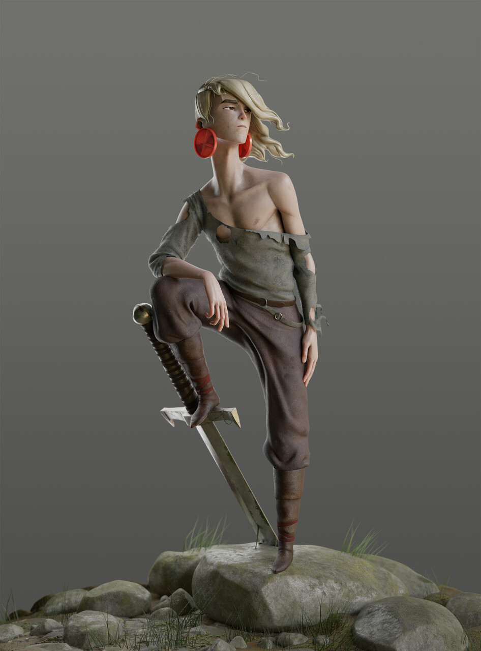 Honorable Mention, The Legend of King Arthur: Film/VFX Character Art (rendered)