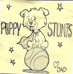 Dad sketches 1