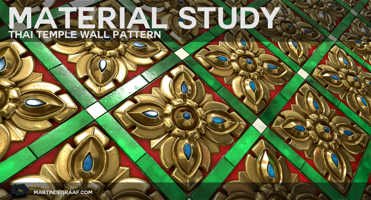2019 10 11 thumbnail blog material study thai temple wall pattern