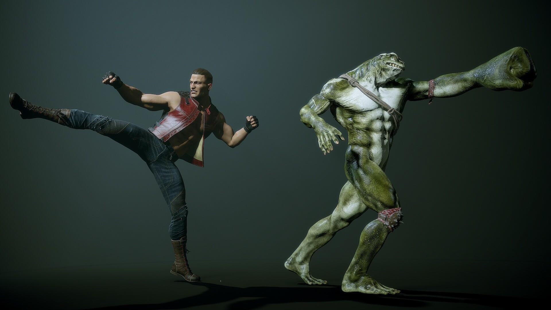 Artstation Alex Lashko Battletoads Double Dragon