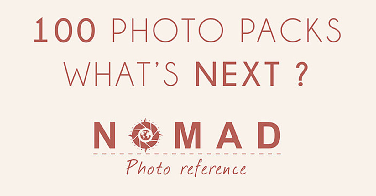 Blog article cubebrush creating 100 photo reference packs made me a better artist nomad photo reference 1