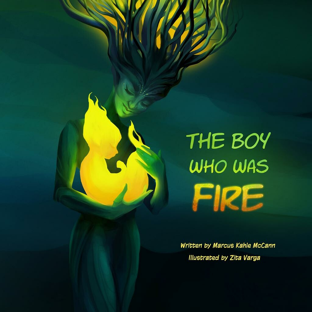 Cover of the boy who was fire by silank ddzd2h6 fullview