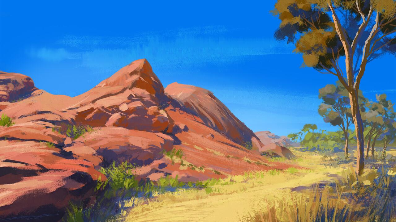 Landscape au 03 v01