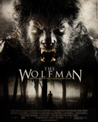 The wolfman poster movie by mademoiselle art %281%29
