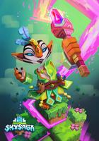 Skysaga poster crafter